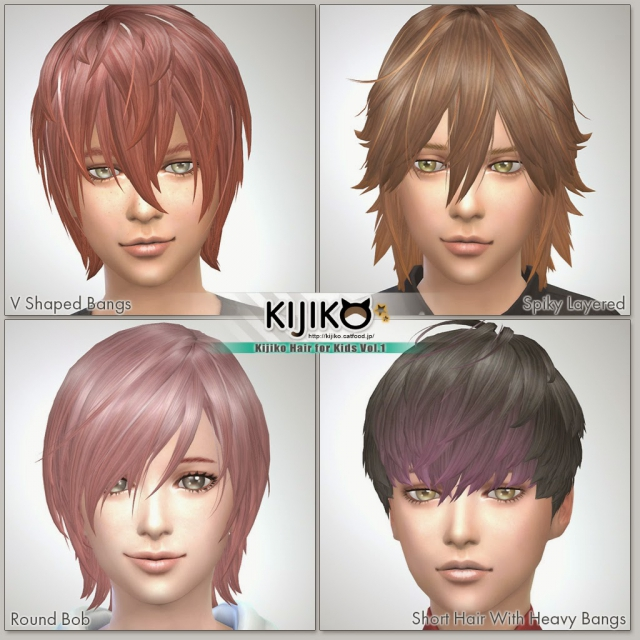 Hair for Kids Vol.1 от Kijiko