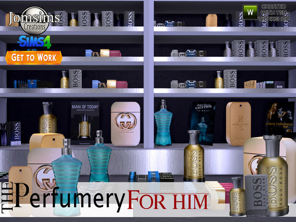 The perfumery get to work for male by jomsims