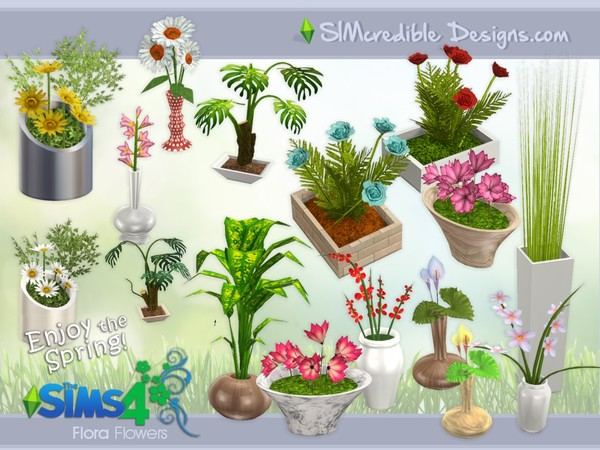 Flora Plants by SIMcredible