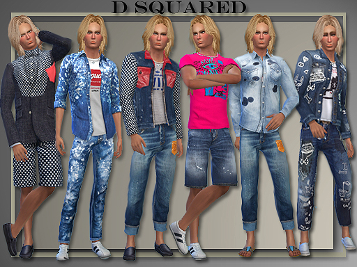 DSquared Summer 2015 for Teen - Elder Males by Judie