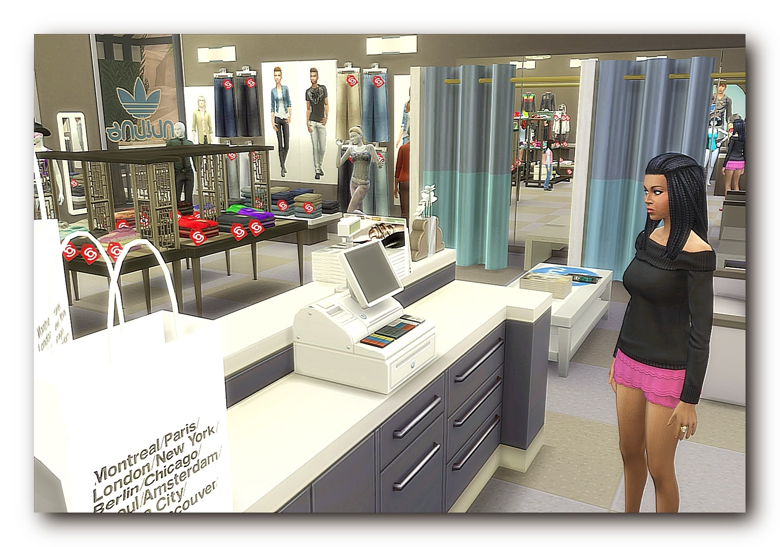 Sports-jeans and music store by Dalila