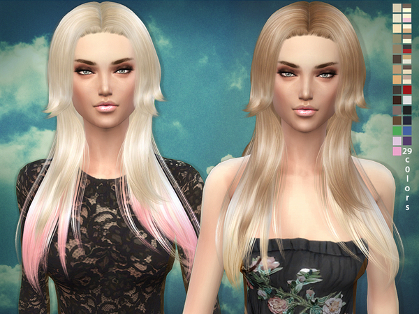 Hair 03 - Rose hair by sims2fanbg