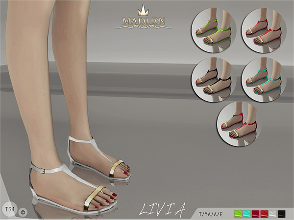 Madlen Livia Sandals by MJ95