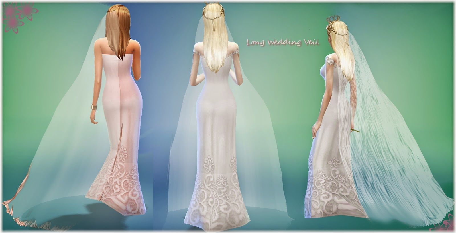 Long Wedding Veil by Alin22