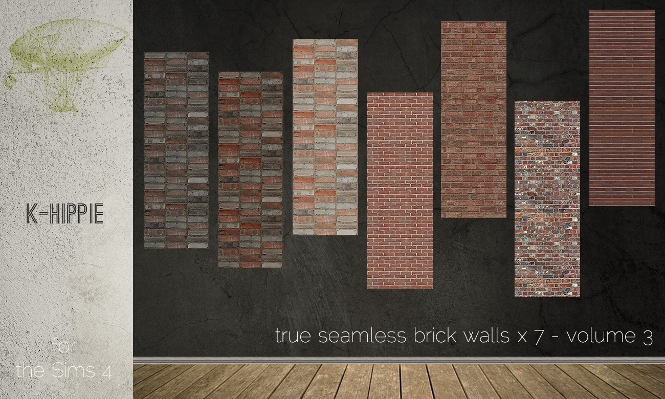 7 brick walls - true seamless - volume 3 by Blackgryffin