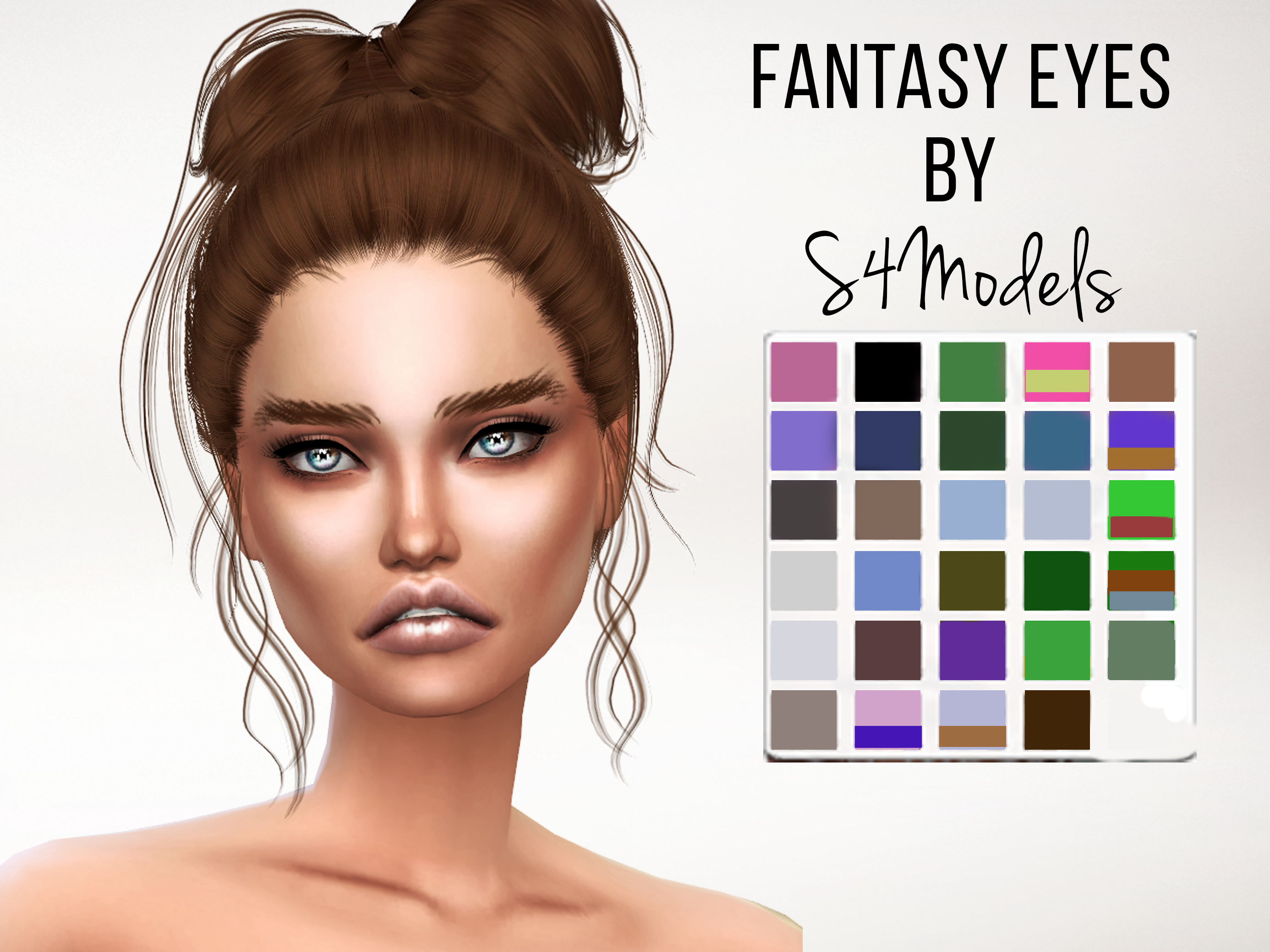 S4 Models  Eyes : Fantasy Eyes