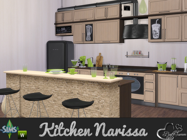 Kitchen Narissa by BuffSumm
