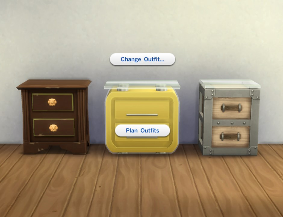 Three endtables as Mini-Dressers by plasticbox