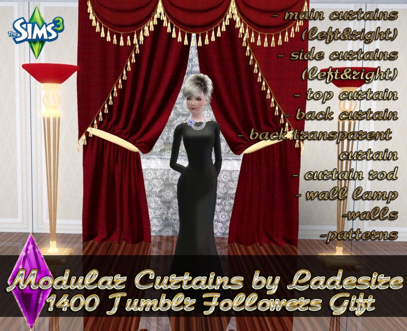 Modular Curtains Set by Ladesire