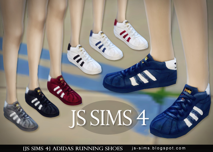 Adidas Running Shoes by JS Sims 4