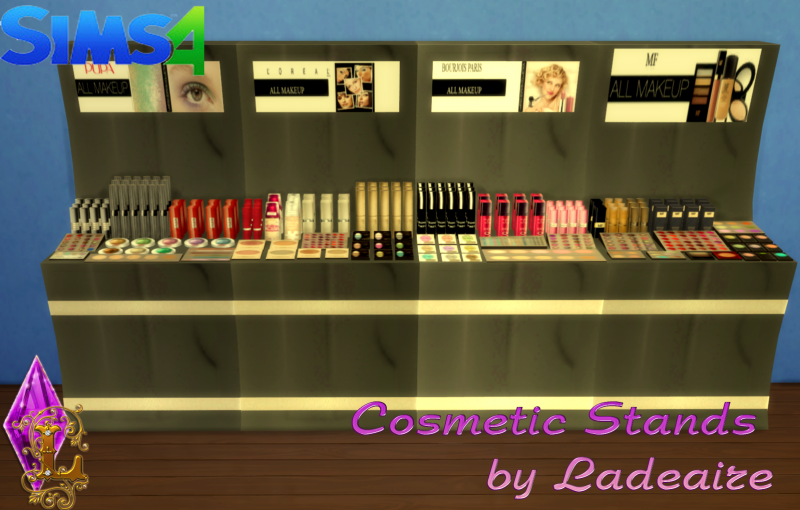 Cosmetic Stands by Ladesire