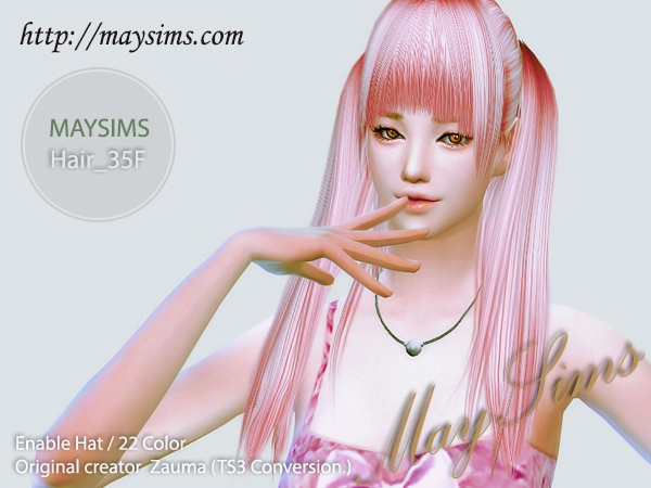 Hair35F by May Sims