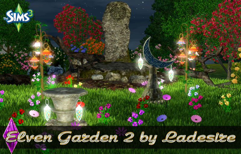 Elven Garden 2 by Ladesire