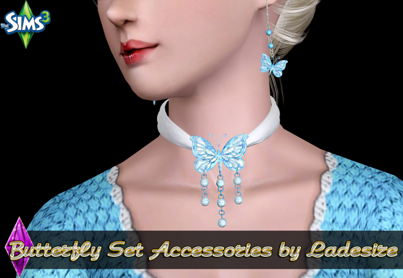 Butterfly Set Accessories by Ladesire