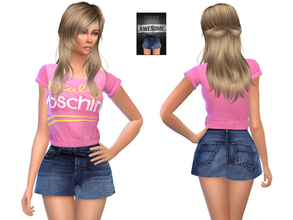ashion Summer_pack by sweetsims4