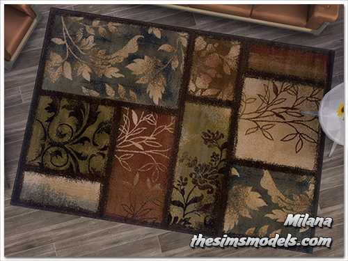 Rugs for The Sims 4 by Milana