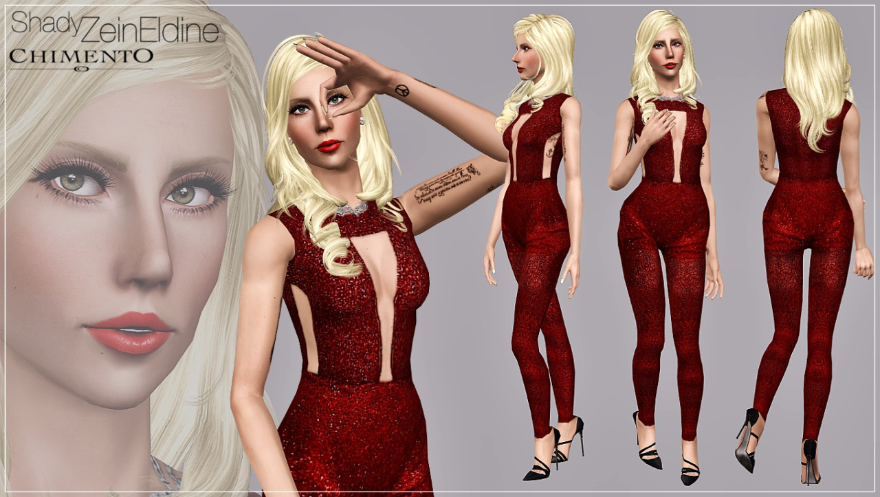 Crystal Jumpsuit by Artsims