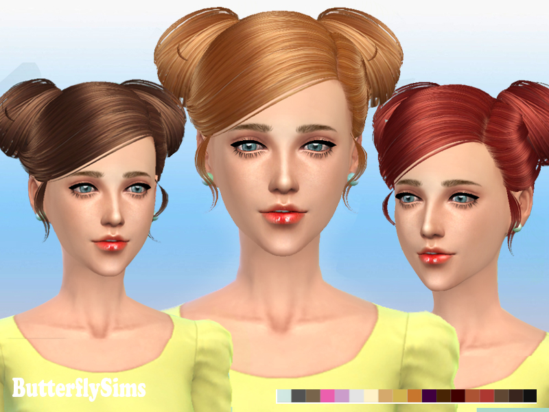Hair 078 by ButterflySims