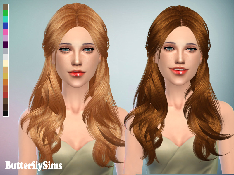 Hair 091 by ButterflySims