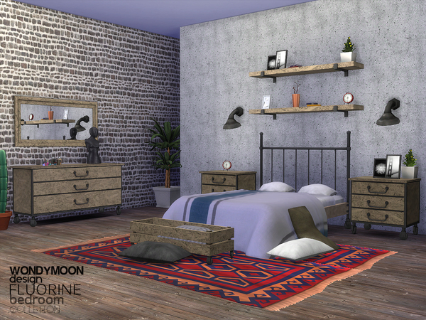Fluorine Bedroom by wondymoon