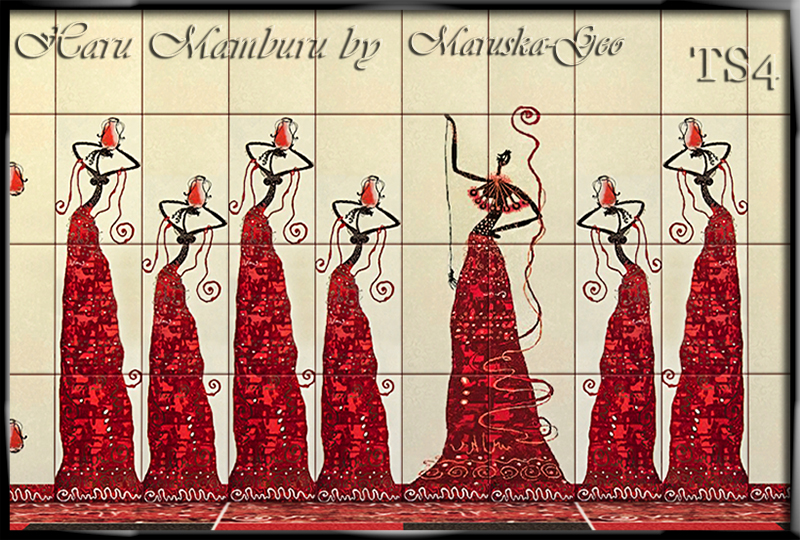 Wallpaper and Floor Tiles by MaruskaGeo