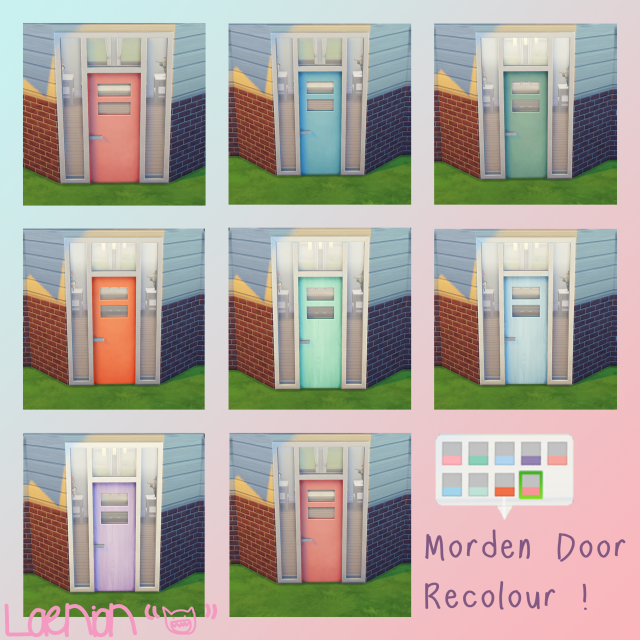 Door Recolors by Laenian