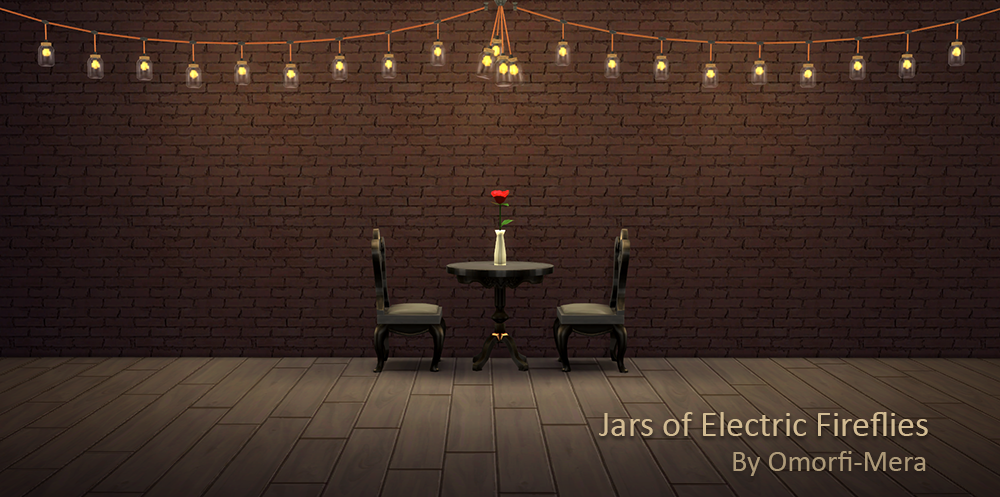 TS3 Jars of Electric Flies Conversion by OmorfiMera