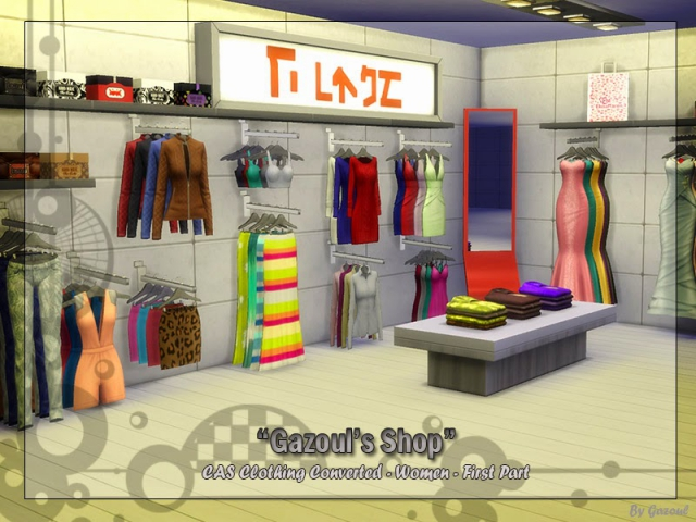Clothing Shop Set by Gazoul