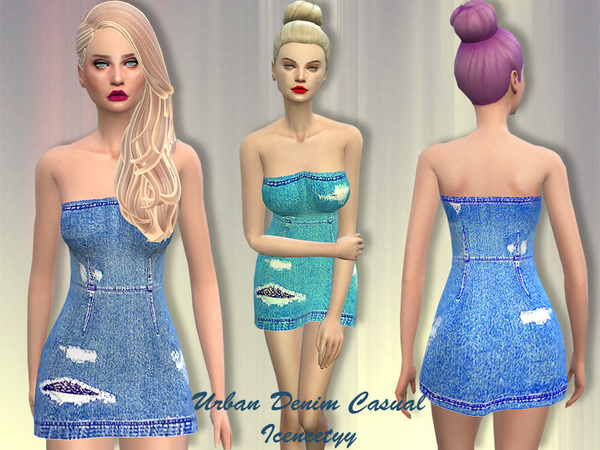 Denim dress by icencetyy