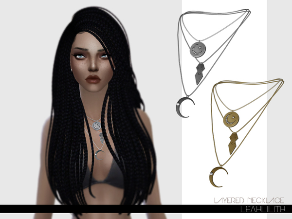 LeahLillith Layered Necklace by Leah Lillith