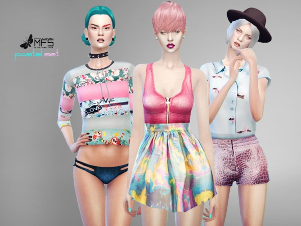 MFS Pastel Set by MissFortune
