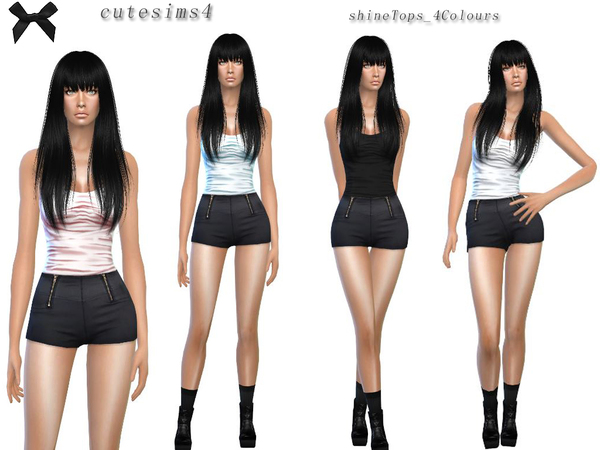 shine_Top_Set by sweetsims4