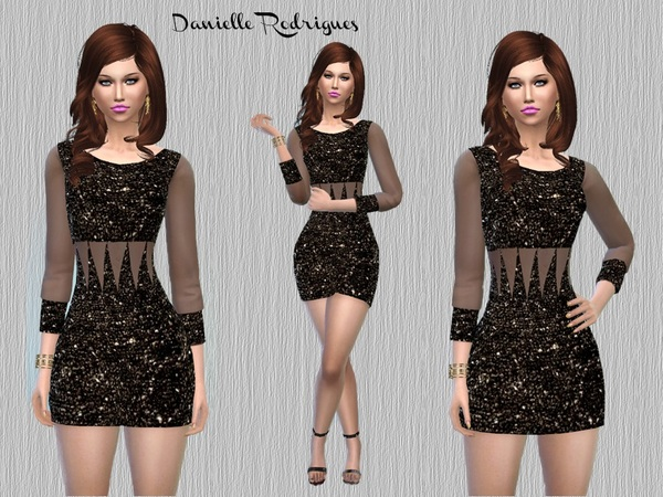 Dress Brilho Charmme Dani's by danielle rodrigues