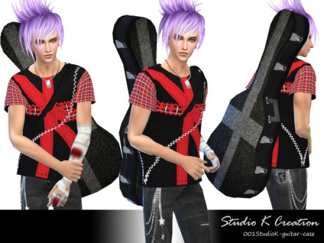 Accessory Guitar Case by Karzalee