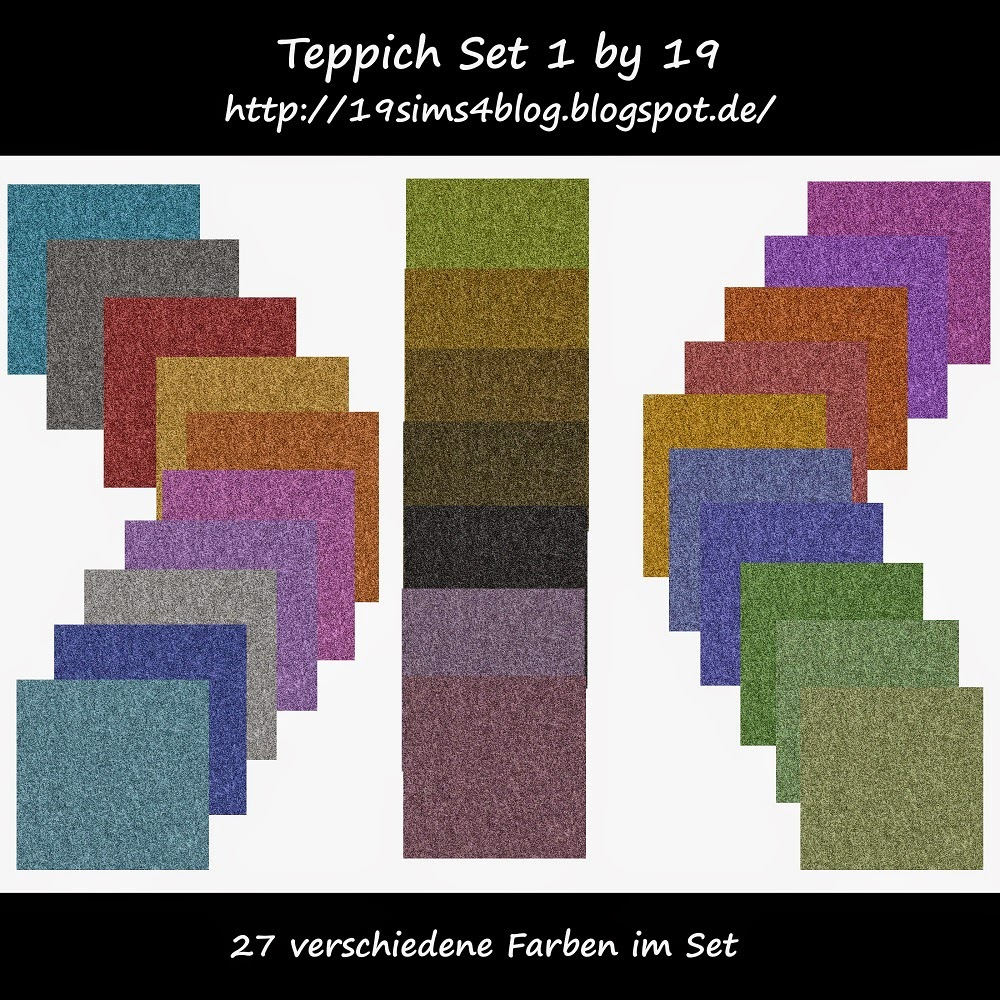 Teppich Set 1 by 19 Sims 4 Blog