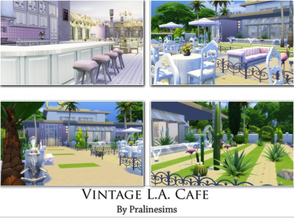 Vintage L.A. Cafe by Pralinesims