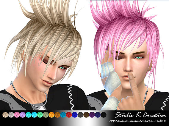 Animate hair 16 - Akira by Studio K-Creation