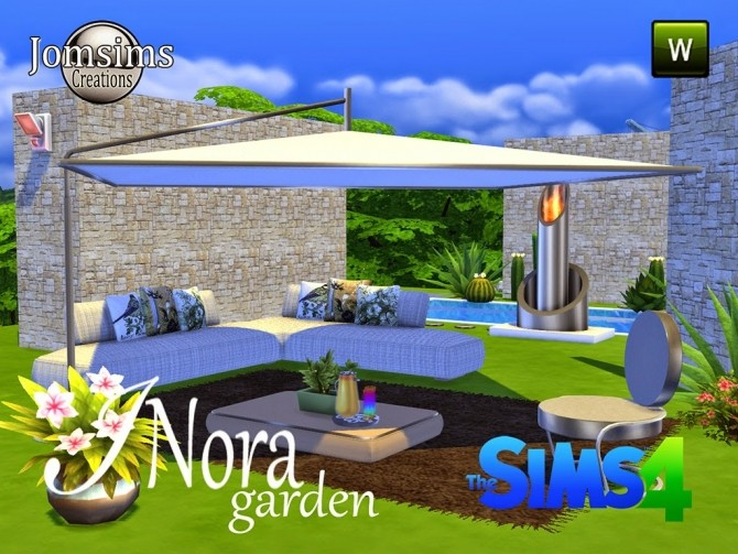 Jomsims Creations   Furniture, Outdoor : INORA garden set