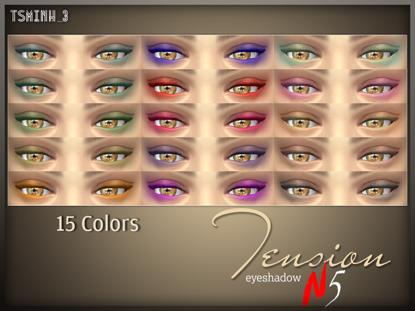 Tension Eyeshadow by tsminh_3