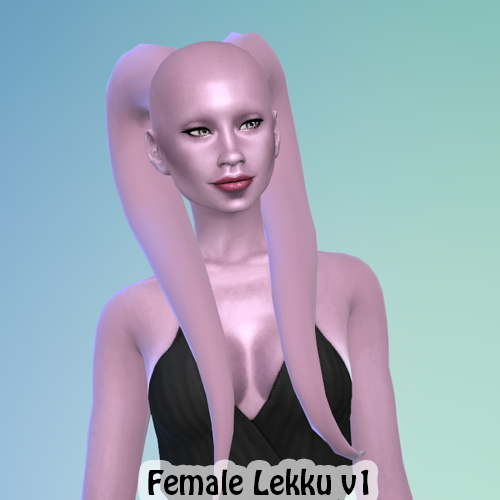 Twi'lek Lekku Hair for Females by Tovisims