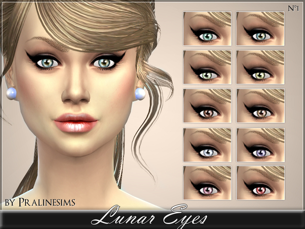 Lunar Eyes by Pralinesims