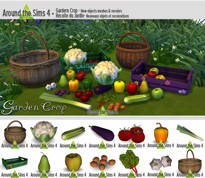 Garden Crops Decor Set by Sandy