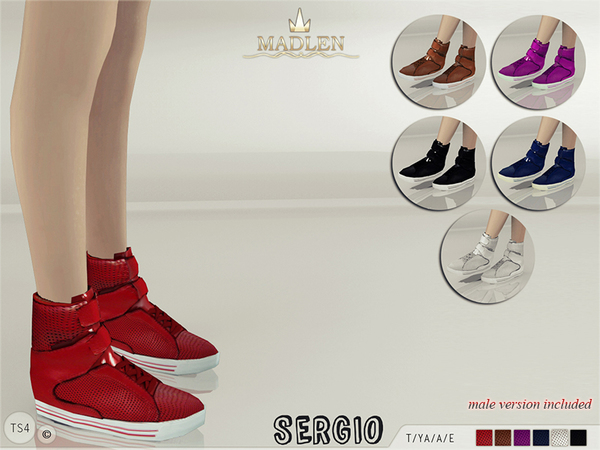 Madlen Sergio Sneakers by MJ95