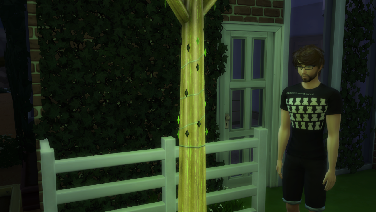 TS3 Twinkling Tree Column Conversion by MrSimpleLukkas