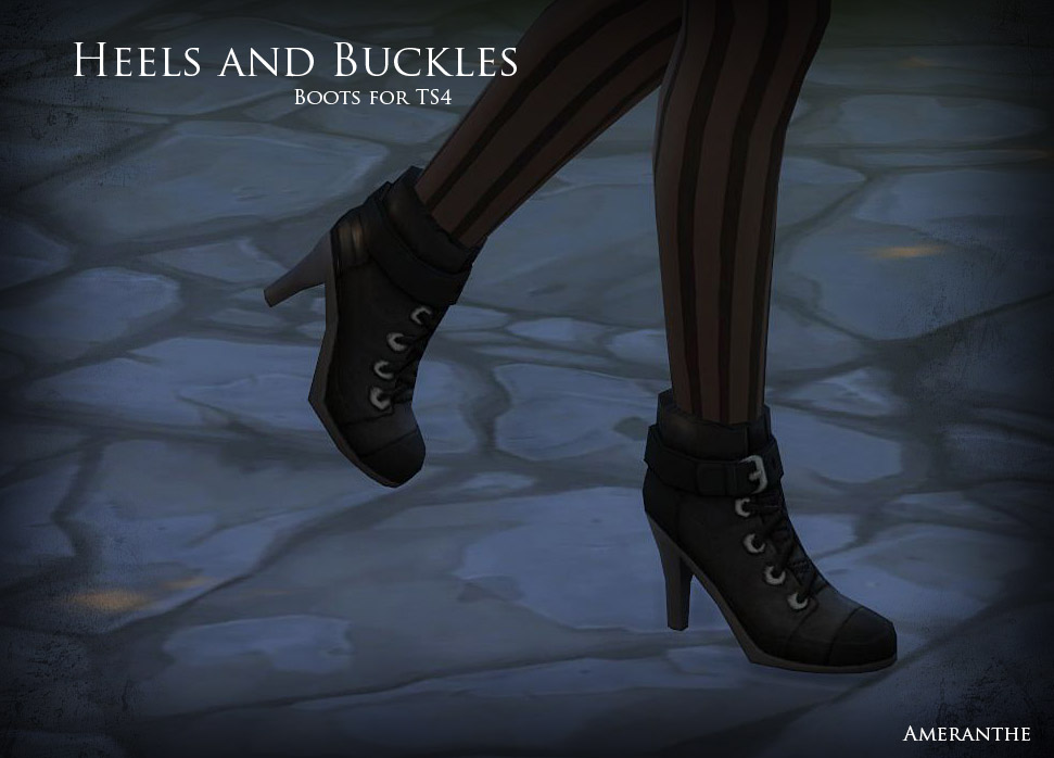 Boots for Females by Ameranthe