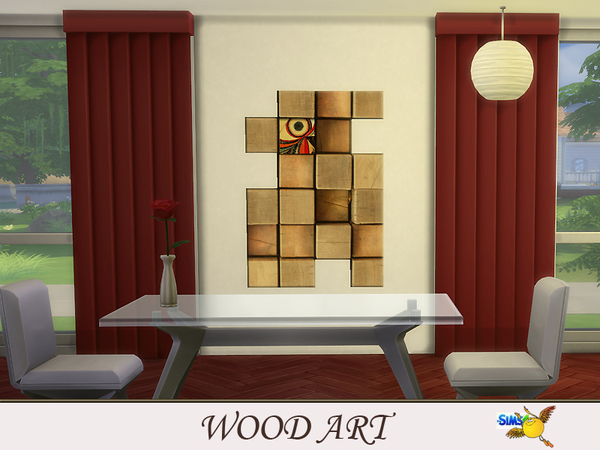 evi Wood Art set