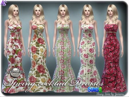 Khany Sims  Clothing, Female : Spring cocktail dresses by Jomsims