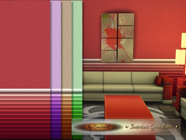 Interior Gradients by emerald