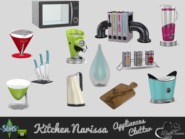 Appliances and Clutter Narissa by BuffSumm
