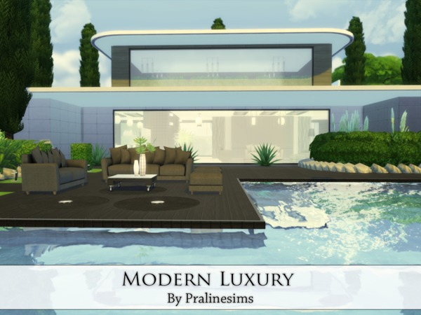 Modern Luxury by Pralinesims
